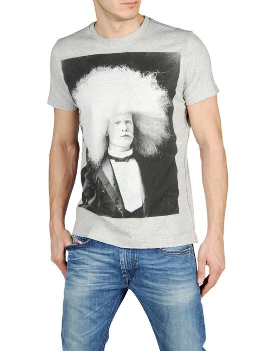 DIESEL T-GLANIS-R 0091B T-Shirt U f