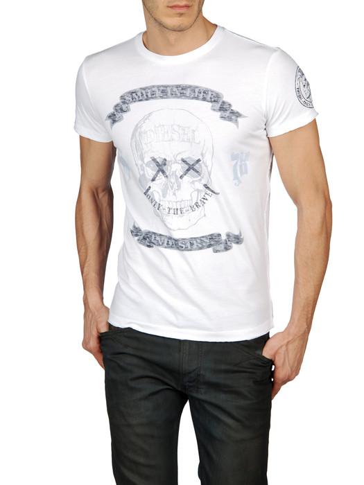 DIESEL T-EPONA-RS 0091B T-Shirt U f