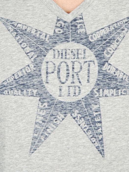 DIESEL T-HAPY-R 00DFM Short sleeves U d