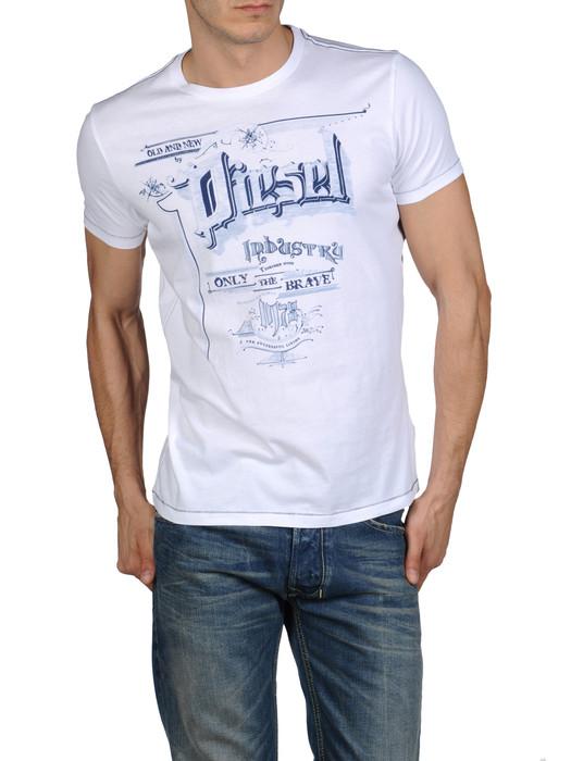 DIESEL T-MADRON-R 0091B Camiseta U f