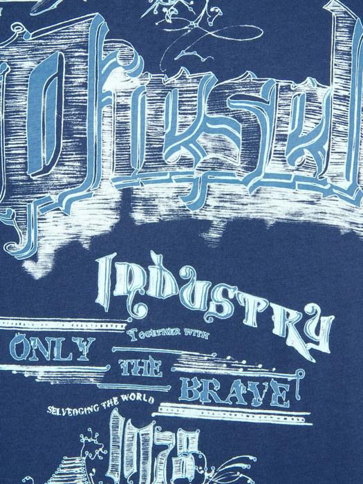 DIESEL T-MADRON-R 0091B Camiseta U d