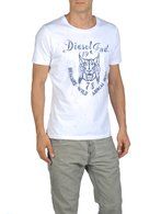 DIESEL T-TIRAWA-R 00QVJ Short sleeves U f