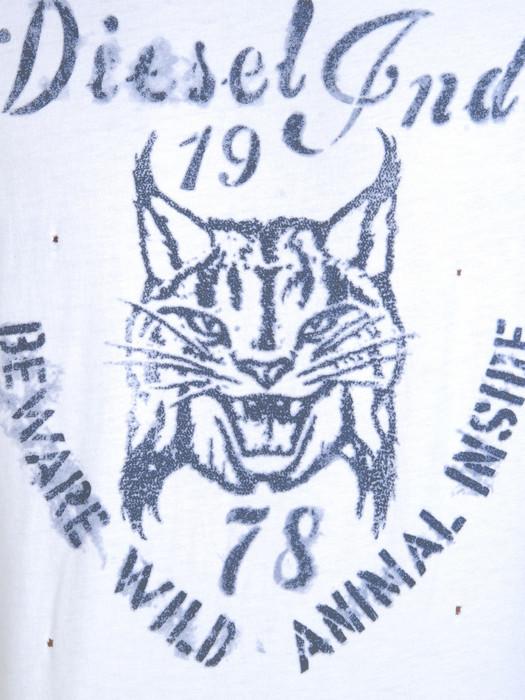 DIESEL T-TIRAWA-R 00QVJ Short sleeves U d