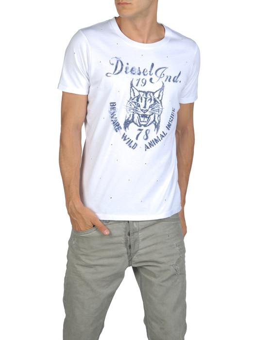 DIESEL T-TIRAWA-R 00QVJ Short sleeves U e