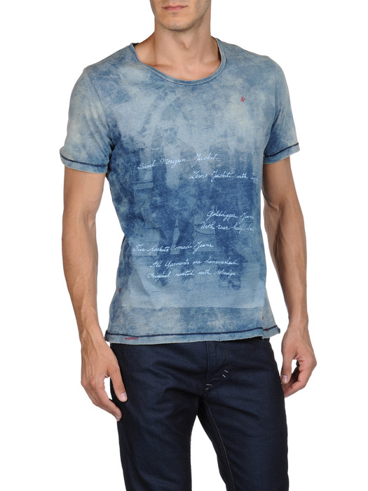 DIESEL T-FAUNO-RS 00GOY Short sleeves U e