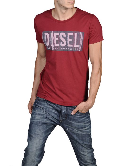 DIESEL T-CONOPUS-RS 0091B Short sleeves U f