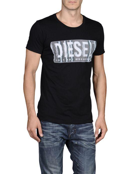 DIESEL T-CONOPUS-RS 0091B Short sleeves U e