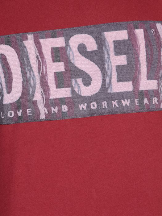 DIESEL T-CONOPUS-RS 0091B Short sleeves U d