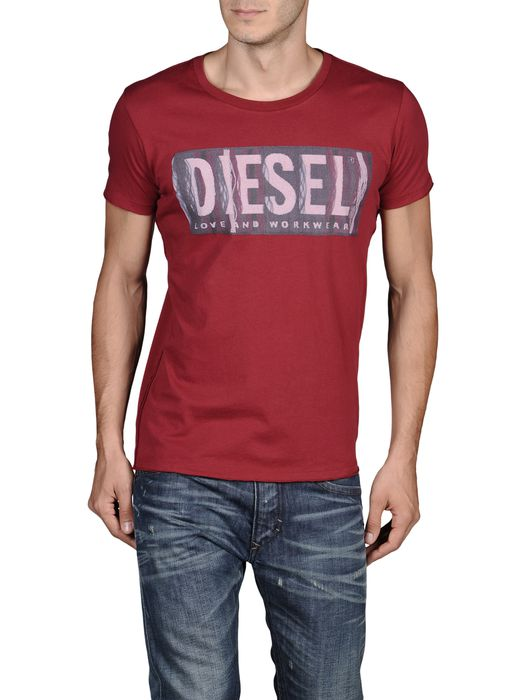 DIESEL T-CONOPUS-RS 0091B Short sleeves U e