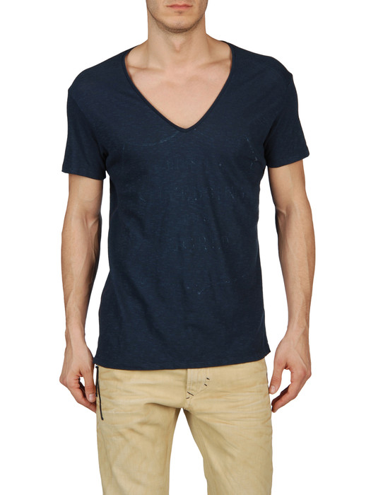 DIESEL T-ATLACOYA-RS 00HFD Short sleeves U f