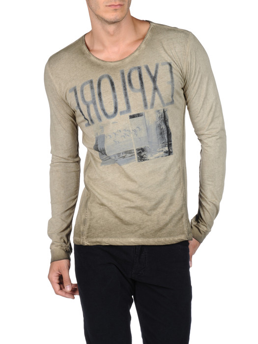 DIESEL T-CRONO-RS 00PQX Long sleeves U f