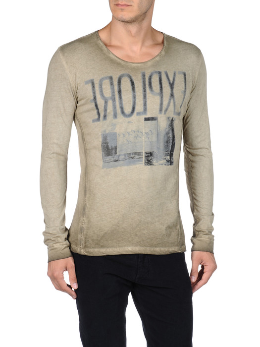 DIESEL T-CRONO-RS 00PQX Long sleeves U e