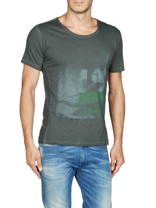 DIESEL T-INTI-RS 00PQX Short sleeves U e