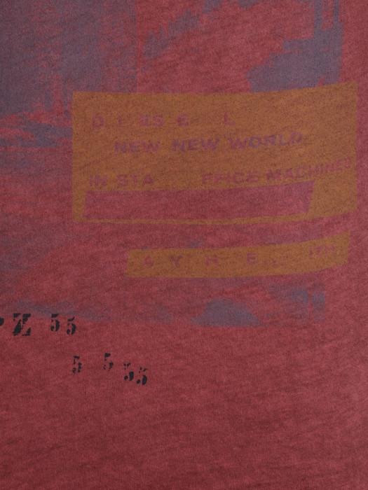 DIESEL T-INTI-RS 00PQX Short sleeves U d