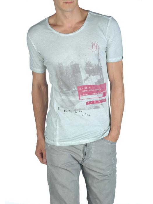 DIESEL T-INTI-RS 00PQX Short sleeves U e
