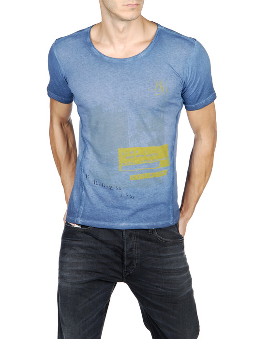 DIESEL T-INTI-RS 00PQX Short sleeves U f