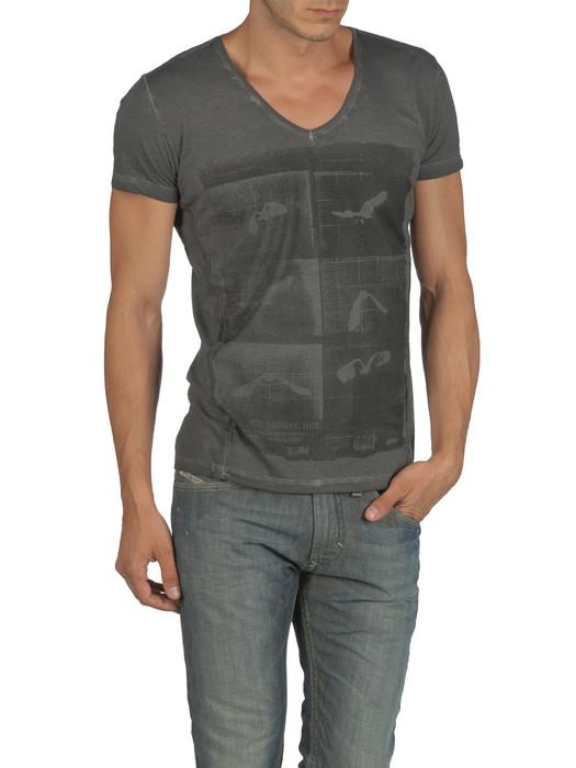 DIESEL T-HENG-RS 00PQX Short sleeves U f