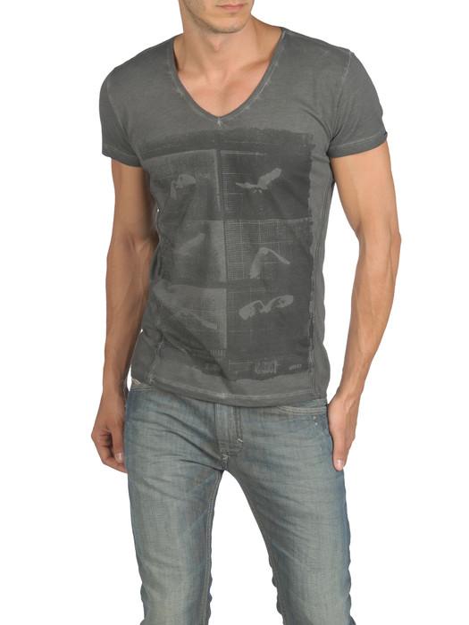 DIESEL T-HENG-RS 00PQX Short sleeves U e