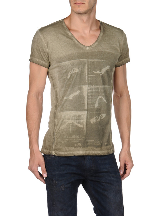 DIESEL T-HENG-RS 00PQX Short sleeves U e