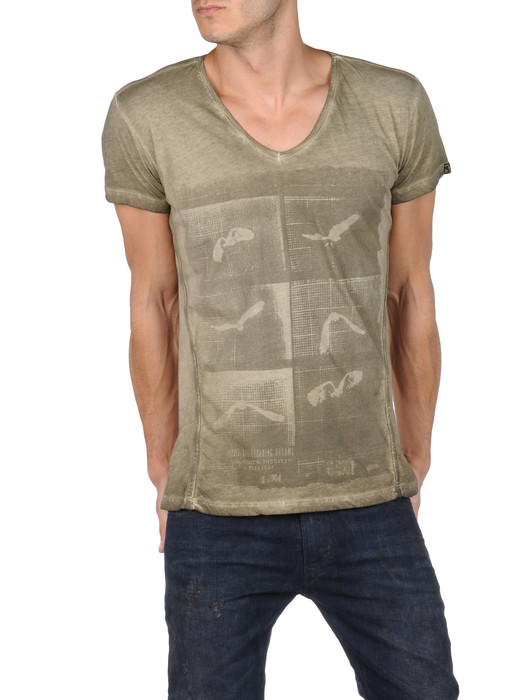 DIESEL T-HENG-RS 00PQX Short sleeves U f