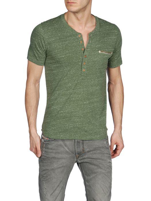 DIESEL T-ERATO 00PQW Short sleeves U f