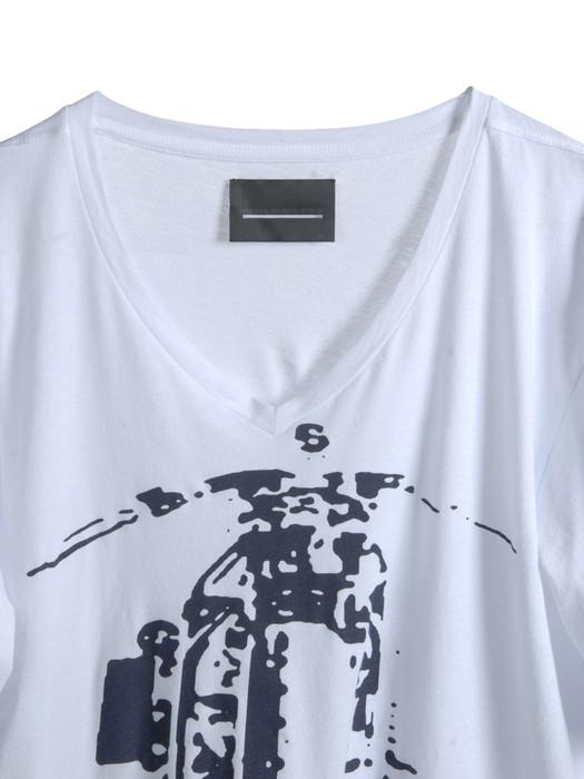 DIESEL BLACK GOLD TAICI-BIKER T-Shirt U e