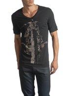 DIESEL BLACK GOLD TAICI-BIKER T-Shirt U f