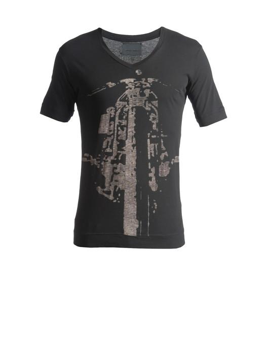 DIESEL BLACK GOLD TAICI-BIKER T-Shirt U d
