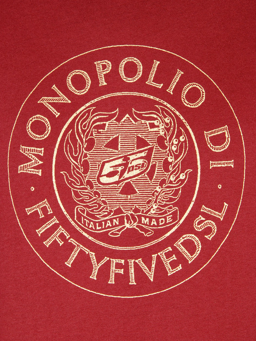 55DSL T-MONOPOLIO 00V51 T-Shirt U d