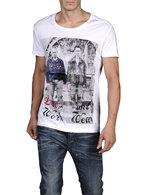 DIESEL T-KUFCA-R 00DFM Short sleeves U f