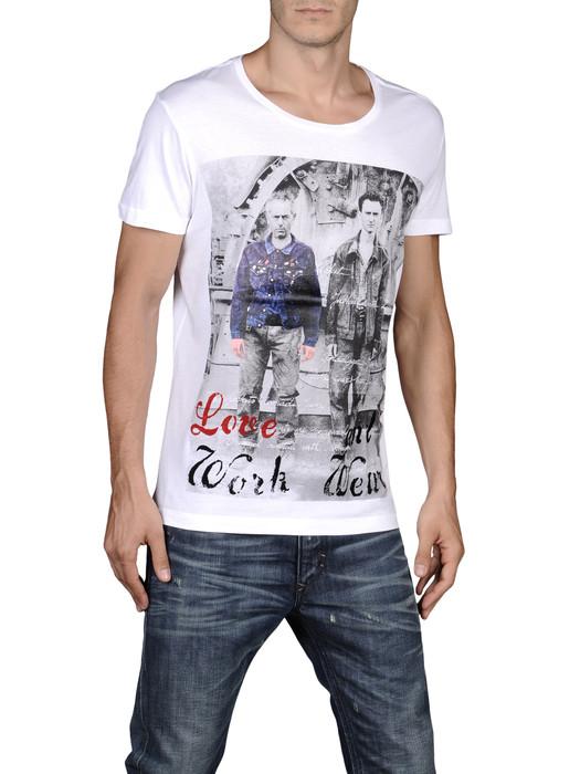 DIESEL T-KUFCA-R 00DFM Short sleeves U e