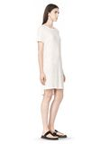 T by ALEXANDER WANG SLUB CLASSIC BOATNECK DRESS  Short Dress Adult 8_n_a
