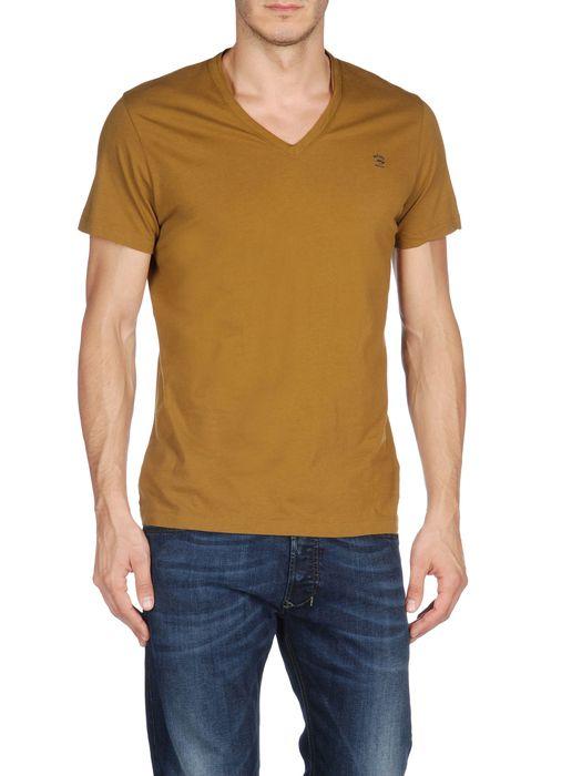 DIESEL T-BRISK-RS 0091B Short sleeves U e