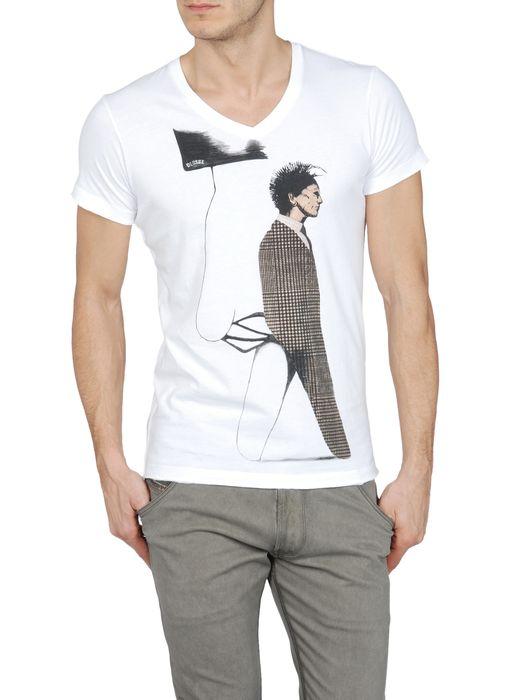 DIESEL T-VICTORIA-RS 0091B Short sleeves U f