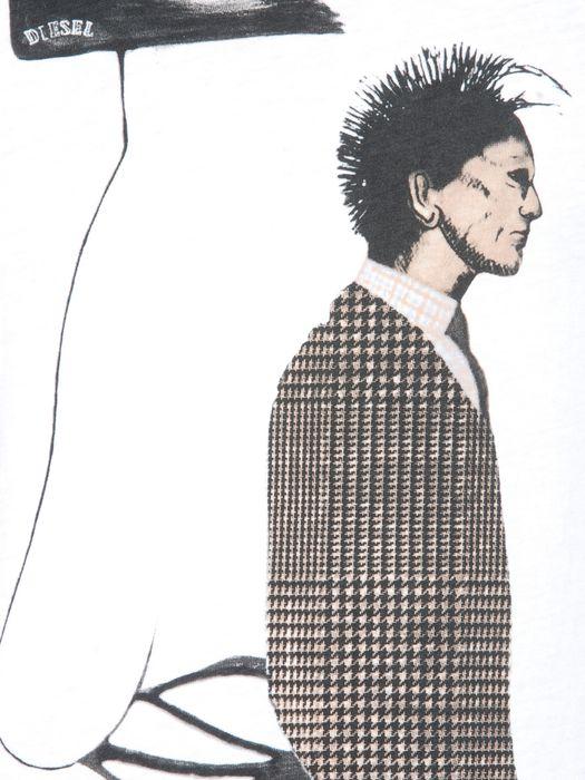DIESEL T-VICTORIA-RS 0091B Short sleeves U d