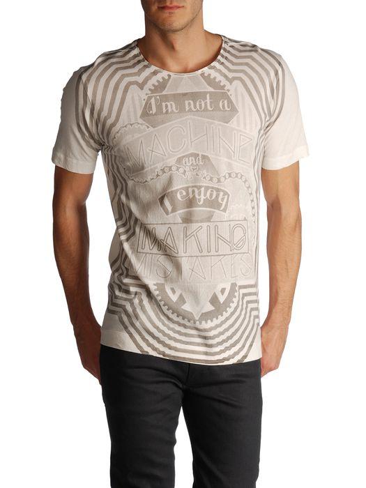 DIESEL BLACK GOLD TORICIY-MAKINO T-Shirt U e