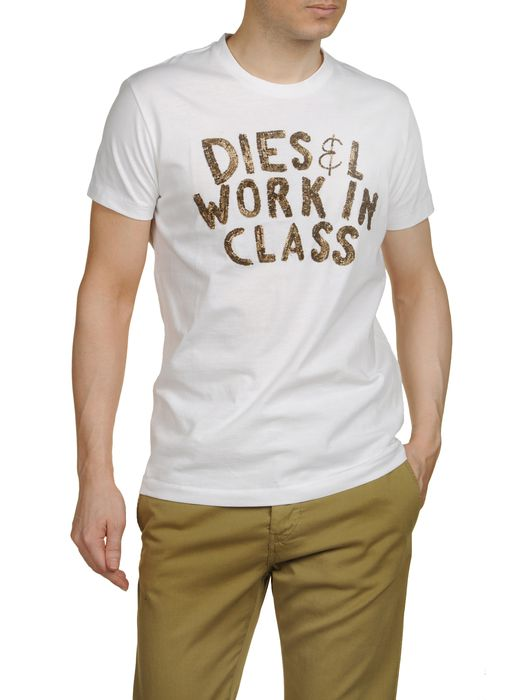 DIESEL T-GIPSON-RS Manches courtes U f