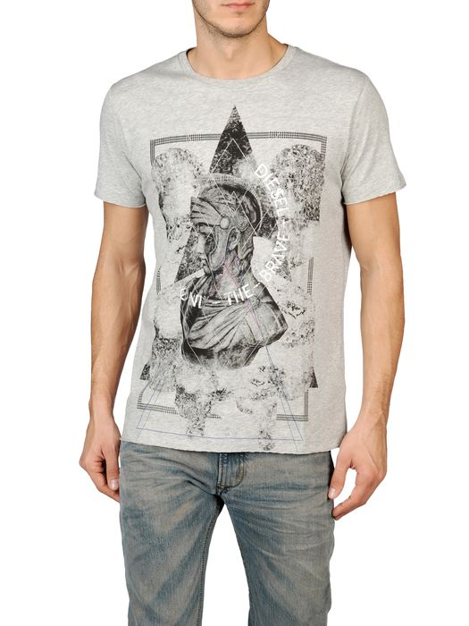 DIESEL T-SIMPSON-R 0091B Short sleeves U e