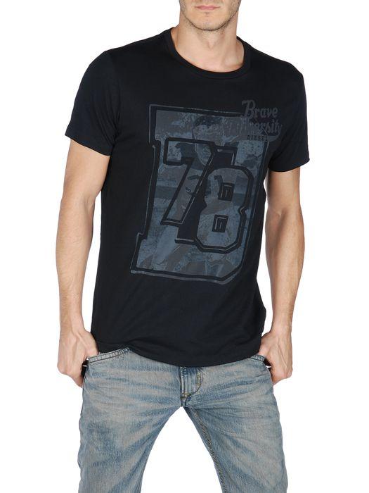 DIESEL T-ATACAMA-R 0091B Short sleeves U f