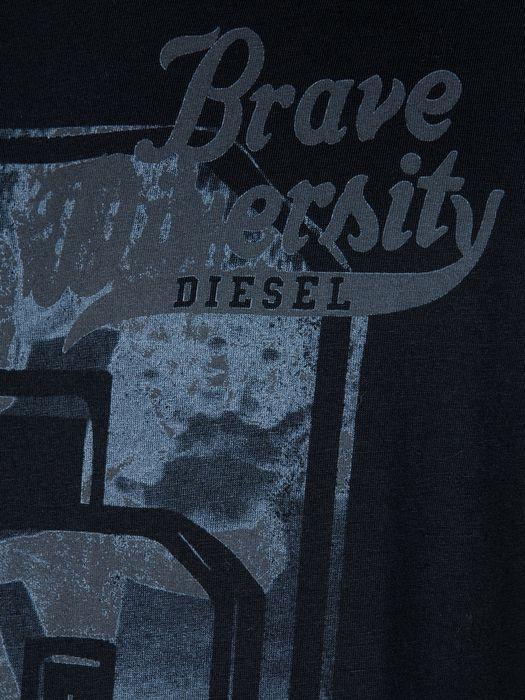 DIESEL T-ATACAMA-R 0091B Short sleeves U d