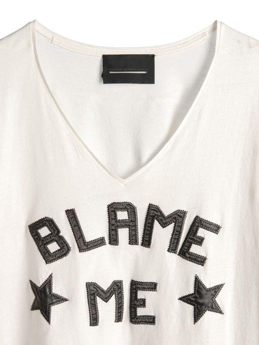 DIESEL BLACK GOLD TAICIY-BLAME Camiseta U d