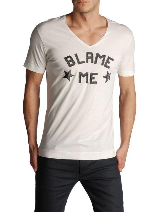DIESEL BLACK GOLD TAICIY-BLAME T-Shirt U e