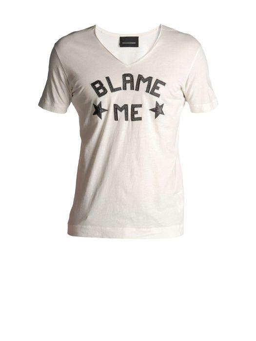 DIESEL BLACK GOLD TAICIY-BLAME T-Shirt U f