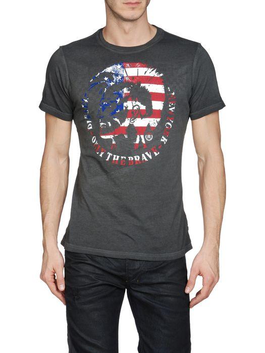 DIESEL SO-T-NEWYORK-R Short sleeves U e