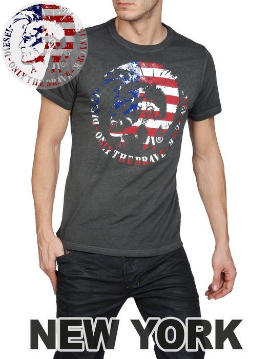 DIESEL SO-T-NEWYORK-R Short sleeves U f