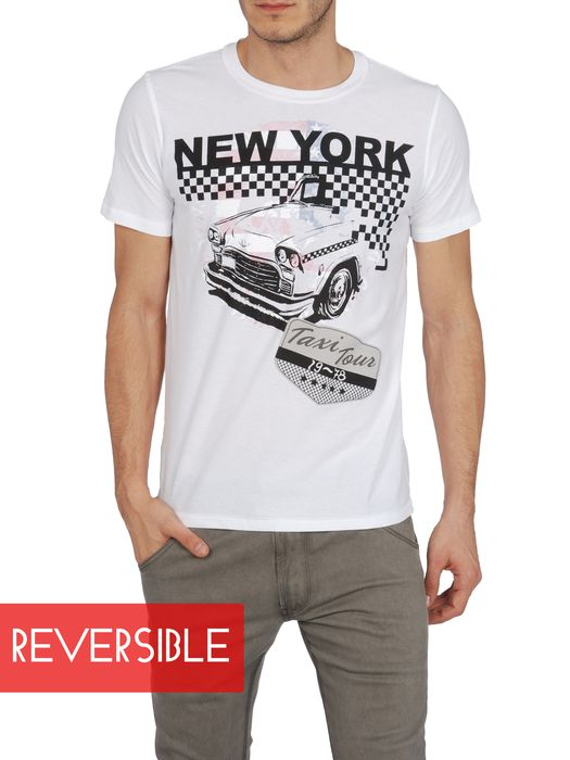 DIESEL SO-T-NEWYORK-R Short sleeves U d