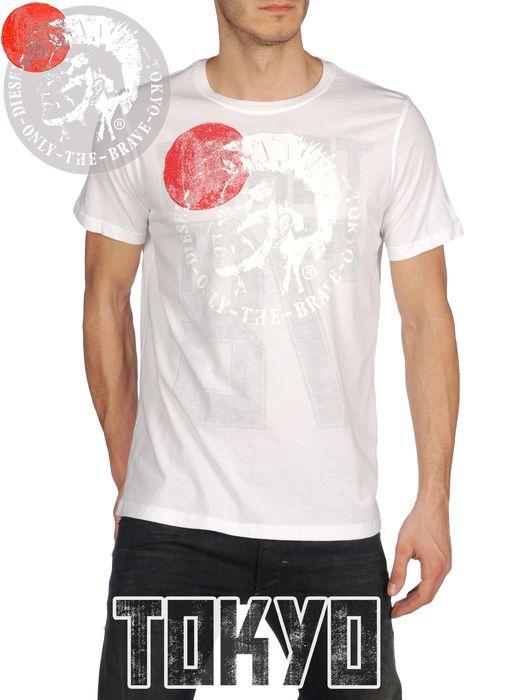 DIESEL SO-T-TOKYO-R Short sleeves U f
