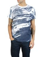 55DSL T-MARBLE Short sleeves U f