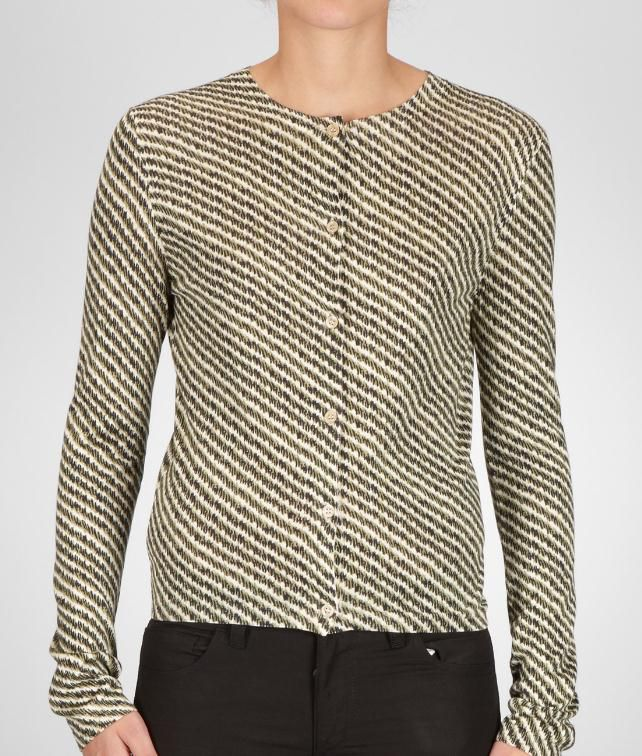 BOTTEGA VENETA Fine Silk Printed Top Sweater and top D fp