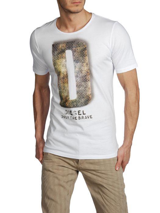 DIESEL T7-LETTER Kurze Ärmel U f